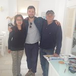 Hiroko, George and Spiros