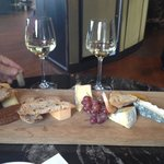 Wine & cheese tray