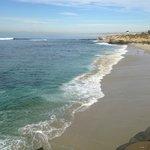 La playa en la jolla cove