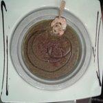 Soupe di lenticchie con gamberi