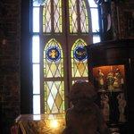 Stain glass throughout