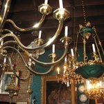 Great selection of chandeliers