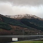 View of Loch Long from front of hotel