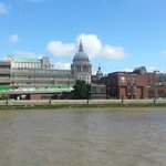 View of St. Paul's Cathedral from the River Thames