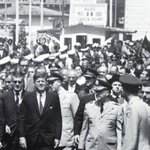 Visit of President Kennedy in 1963