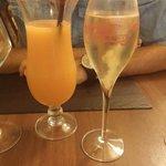 Cocktail maison et champagne tsarine !