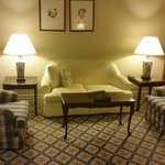 Room 216 lounge area