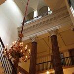 chandelier main starcase Athenaeum
