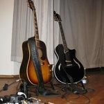 Rugsted´s lækre guitarer.