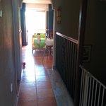 Pasillo entre dormitorio y salón/cocina