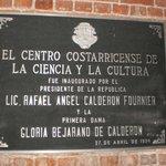 Placa do Museu de Los Niños