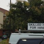 Hope they were hiring this guy to spruce up the place.
