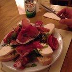 Antipasto starter! Yes a starter!