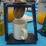 O café feito na hora
