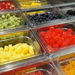 Cold bar toppings