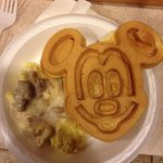 Yummy Mickey pancakes