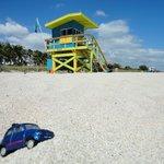 Playa en frente del hotel