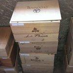 Magnífica carta de vinos