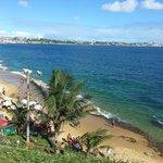 Praia da Boa Viagem vista do Forte Monte Serrat