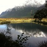 Mirrol lakes on the way to Milford Sound