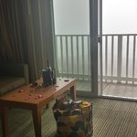 Romance package upon arrival..foggy day