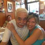 Our waiter-loved him. Didn't speak English.