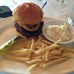 Barbeque Burger @ Lands End Restaurant, 444 Marina Drive, Georgetown, SC