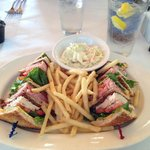 Club Sandwich @ Lands End Restaurant, 444 Marina Drive, Georgetown, SC
