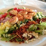 Cobb Salad @ Lands End Restaurant, 444 Marina Drive, Georgetown, SC