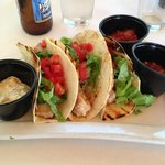 Fish Tacos @ Lands End Restaurant, 444 Marina Drive, Georgetown, SC