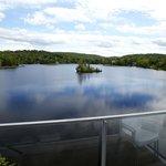 Chambre vue sur le lac