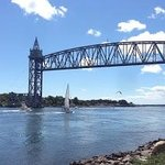 Cape Cod Canal Bikeway - Train Bridge