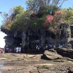 Tanah Lot Temple where we received a blessing.
