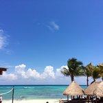 Пляж отеля Сандос Караколь