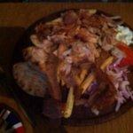 Gyro platter for ONE!!!
