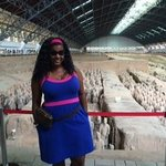 Me at the Terracotta Warrior site