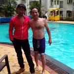 Alor grand resort view pool side