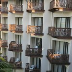 large balconys