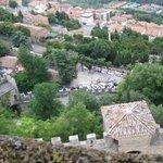 Вид города Сан-Марино с высоты замка