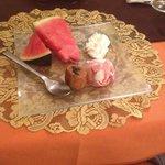 Le succulent dessert!