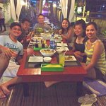 Dinner at kawayanan Grill with new buddies
