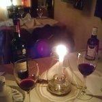 Jantar especial à luz de vela!