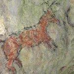 peintures dans les habitats troglodythes