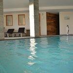 Schwimmbad mit Salzwasser