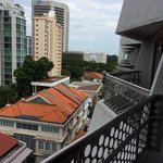 View from 7th storey room balcony