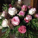 Blumengesteck anlässlich der Hochzeit in der Familie Liebherr