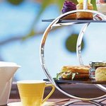Ryukyu Afternon Tea Set at Ocean Café