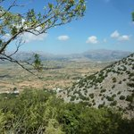 View from the Caves of Zeus  - well worth the effort