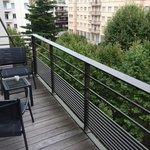 Balcon pour qq chambres
