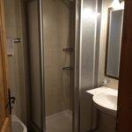 Camera mansarda con bagno